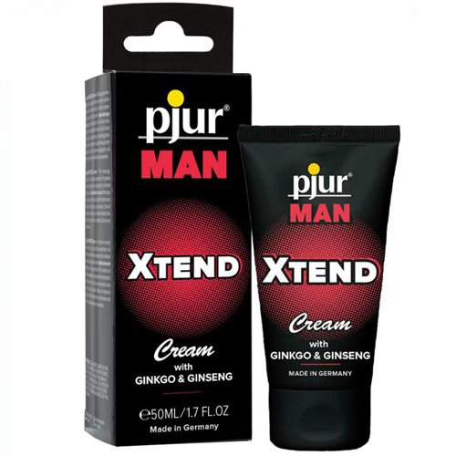 PJUR  MAN XTEND massage cream til mænd